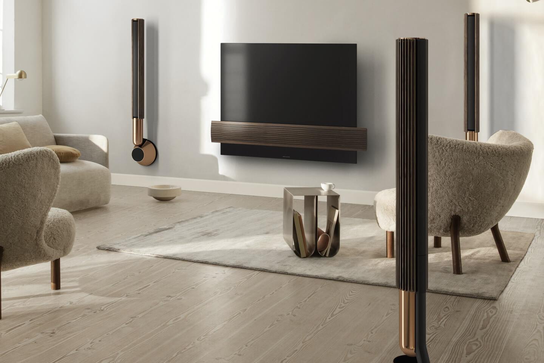 BeoLab 28 Bronze Tone - standout Design