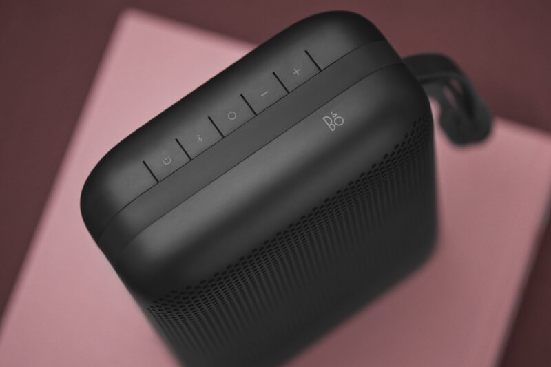 BeoPlay P6 schwarz Bedientasten