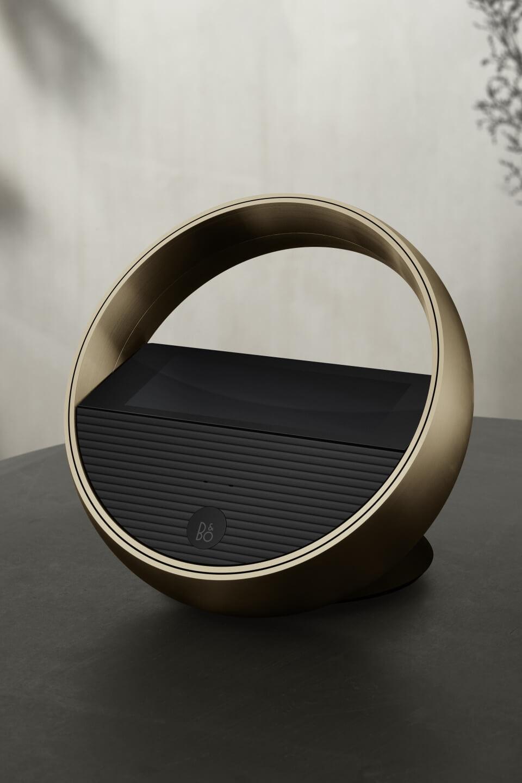 BeoRemote Halo Brass Tone table version