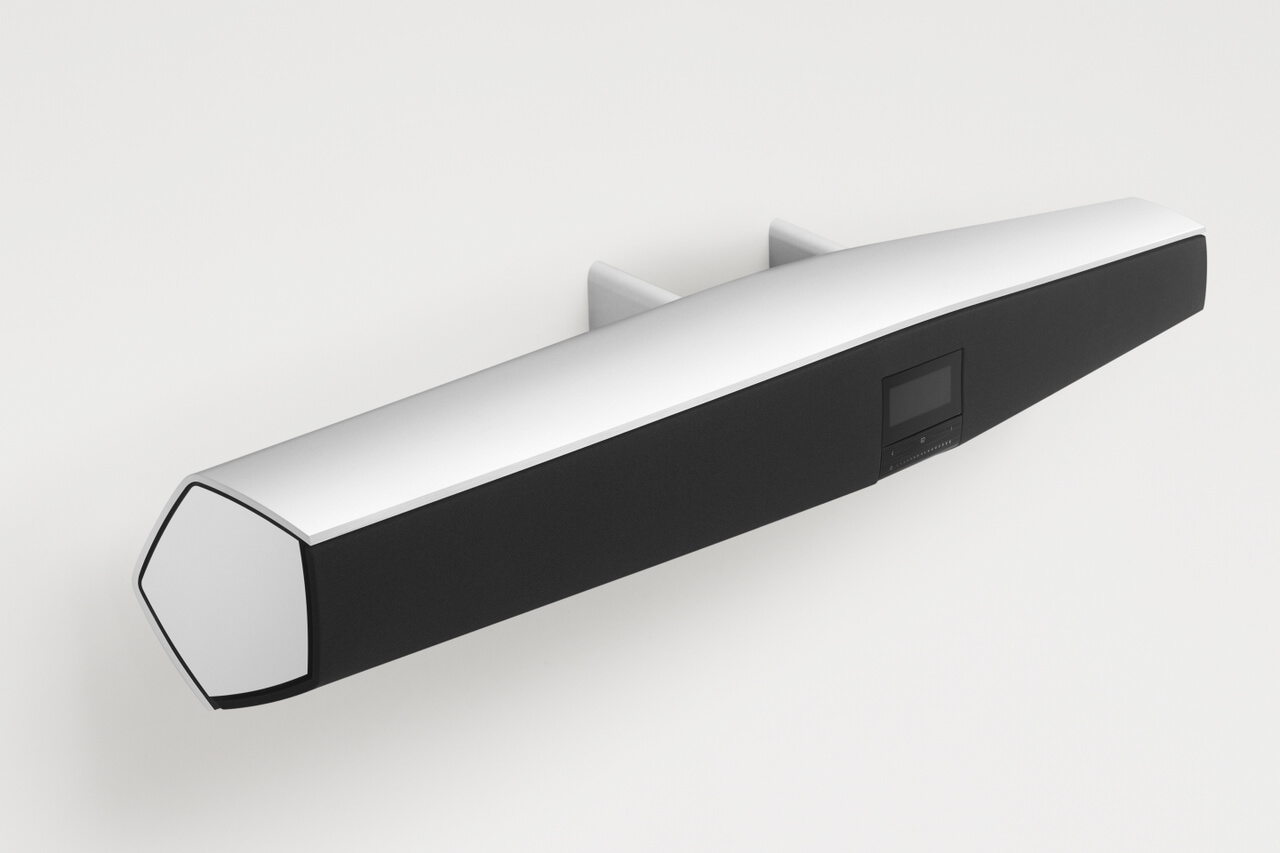 BeoSound 35 on upper wall bracket