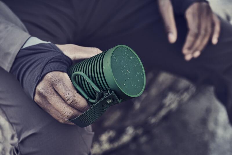 BeoSound Explore (green) 360 Grad sound