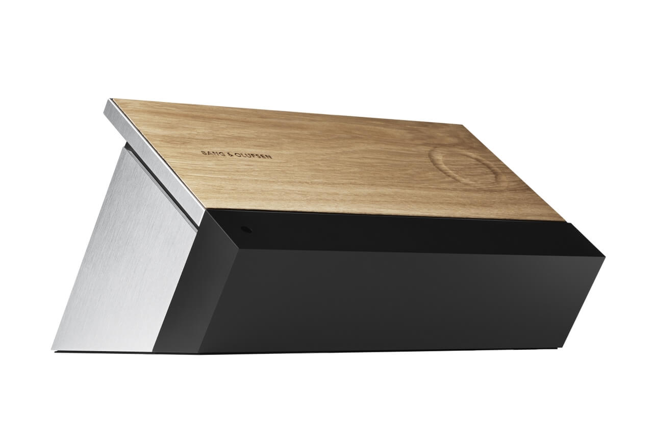 BeoSound Moment with world's first wooden interface