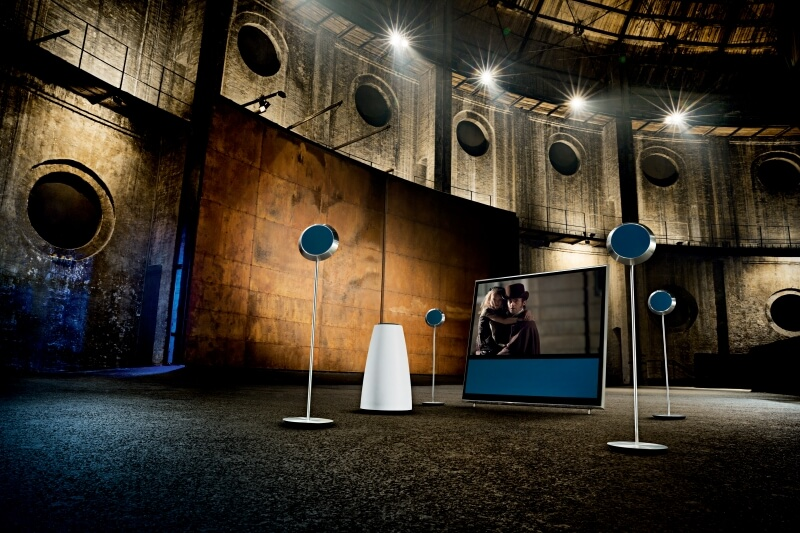 Bang & oLUFSEN understood Acoustics as an art form