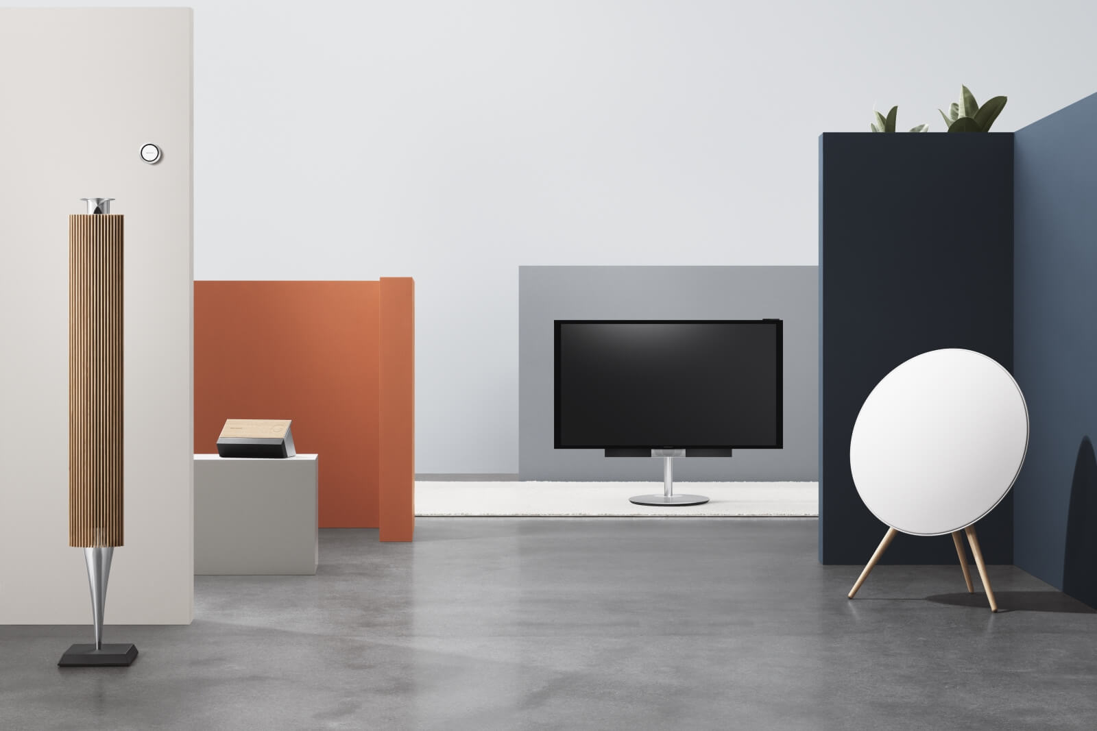 BeoLink Multiroom combines your Bang & Olufsen products into a wireless system