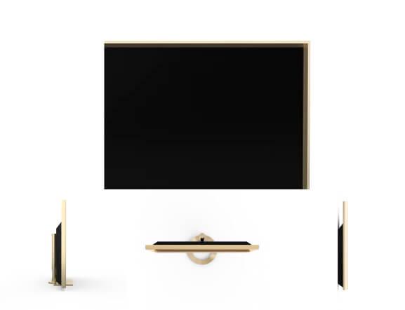 BeoVision Contour Rahmen gold
