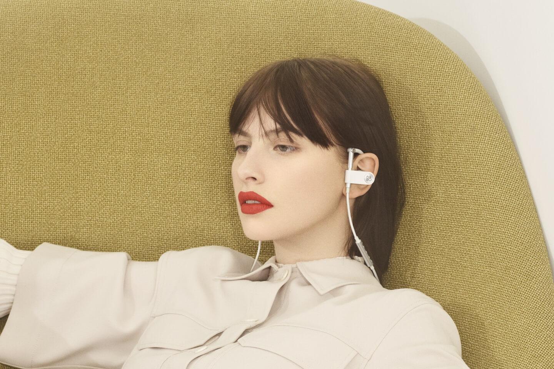 Bang & Olfsen EarSet white - angenehm zu tragen
