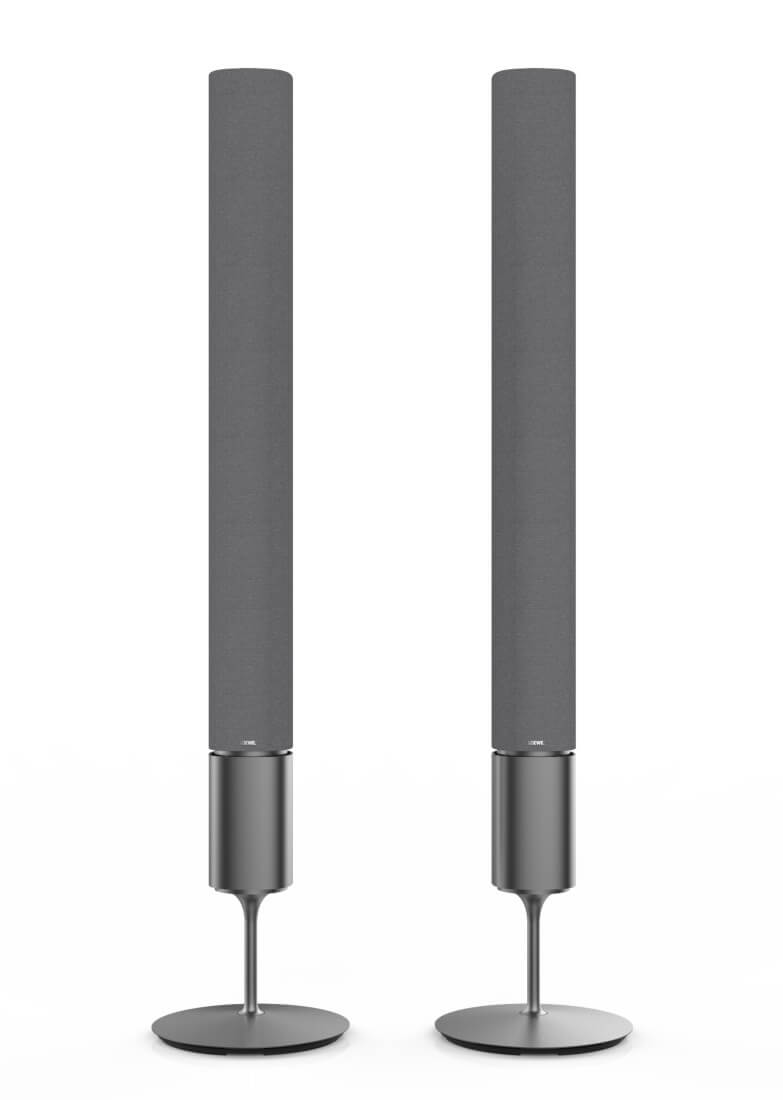 klang 5 Lautsprecher lichtgrau